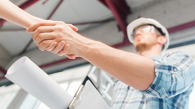 заключение договора со строительной компанией